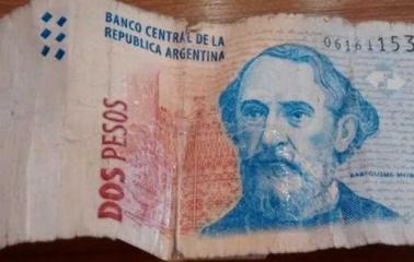 El Banco Central anunció que quitará de circulación el billete de dos pesos