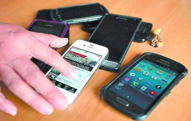 Capitán Bermúdez: Tras un allanamiento secuestran varios celulares robados