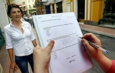 Encuestas: El peronismo lidera la intención de votos