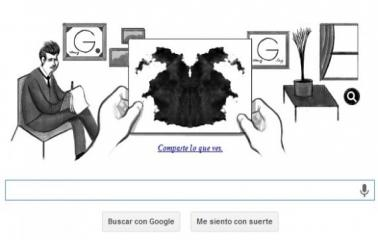 Google recuerda a Hermann Rorschach y propone realizar su test