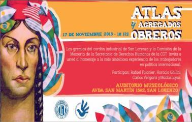 Plenario militante y reconocimiento a la tarea latinoamericana de los trabajadores
