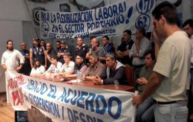 La CGT Regional San Lorenzo lanzó un paro de 24 horas para el jueves 30