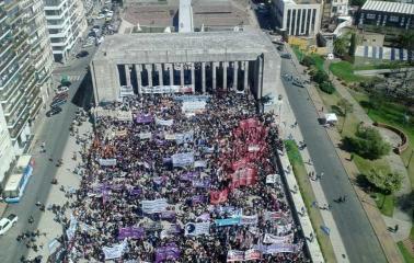 Más de sesenta y cinco mil mujeres asisten al 31 encuentro nacional realizado en Rosario