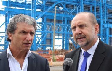 """""""La única acería que se está construyendo en el mundo se está haciendo en Pérez Santa Fe"""""""