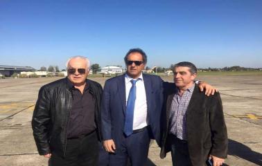Elecciones Nacionales: Scioli  suma un apoyo rotundo del peronismo sanlorencino