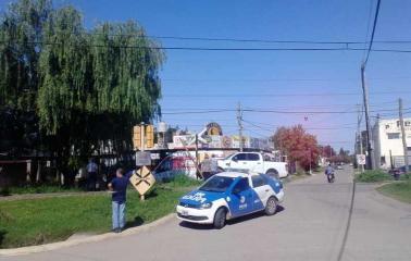 Ahora: El tren arrolló una camioneta en Beltrán