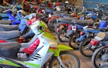 El municipio de San Lorenzo subastará 170 motocicletas y 62 automóviles