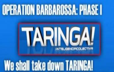 Anuncian un ataque a Taringa!
