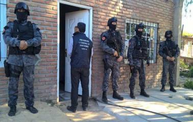 Allanamientos y detenidos en Villa Gobernador Gálvez
