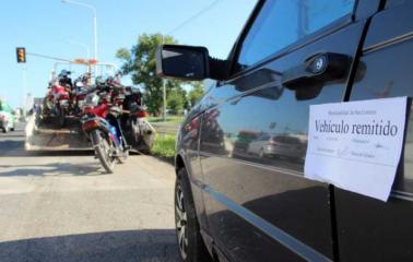 En operativos de control, remitieron 26 vehículos al corralón