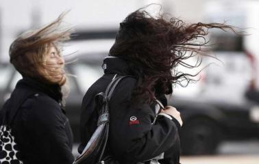 Alerta meteorológico por fuertes vientos y ráfagas