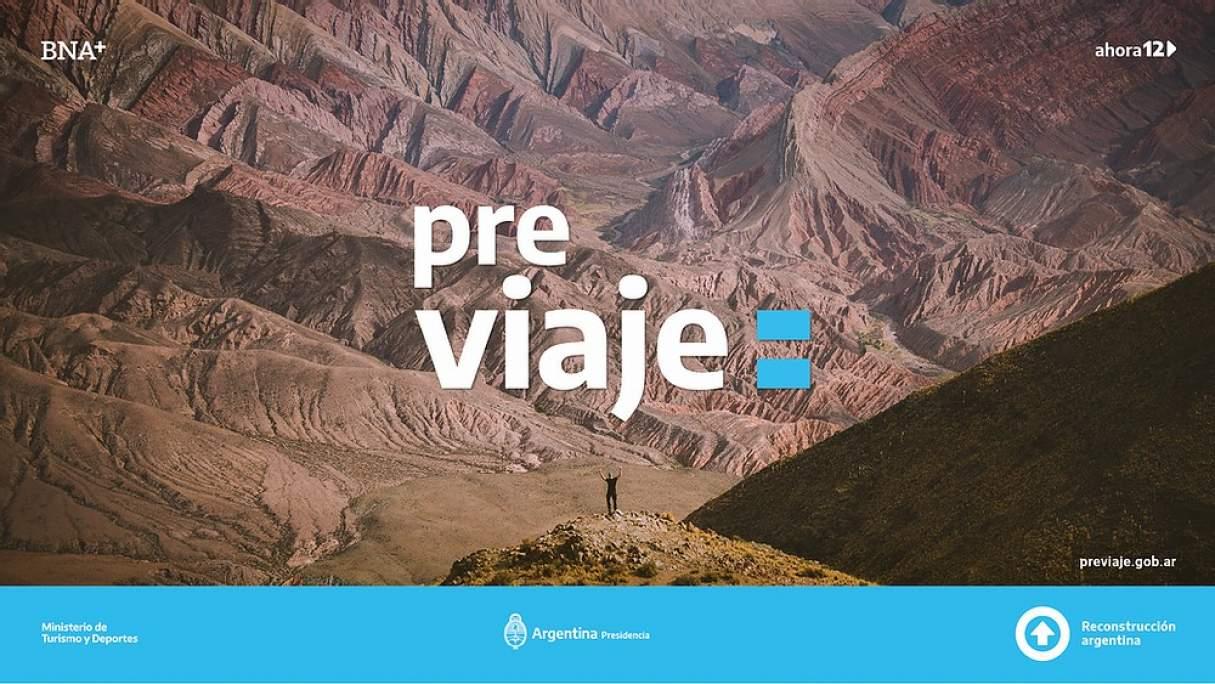 PreViaje: programa de preventa turística con devolución del 50 por ciento de los gastos