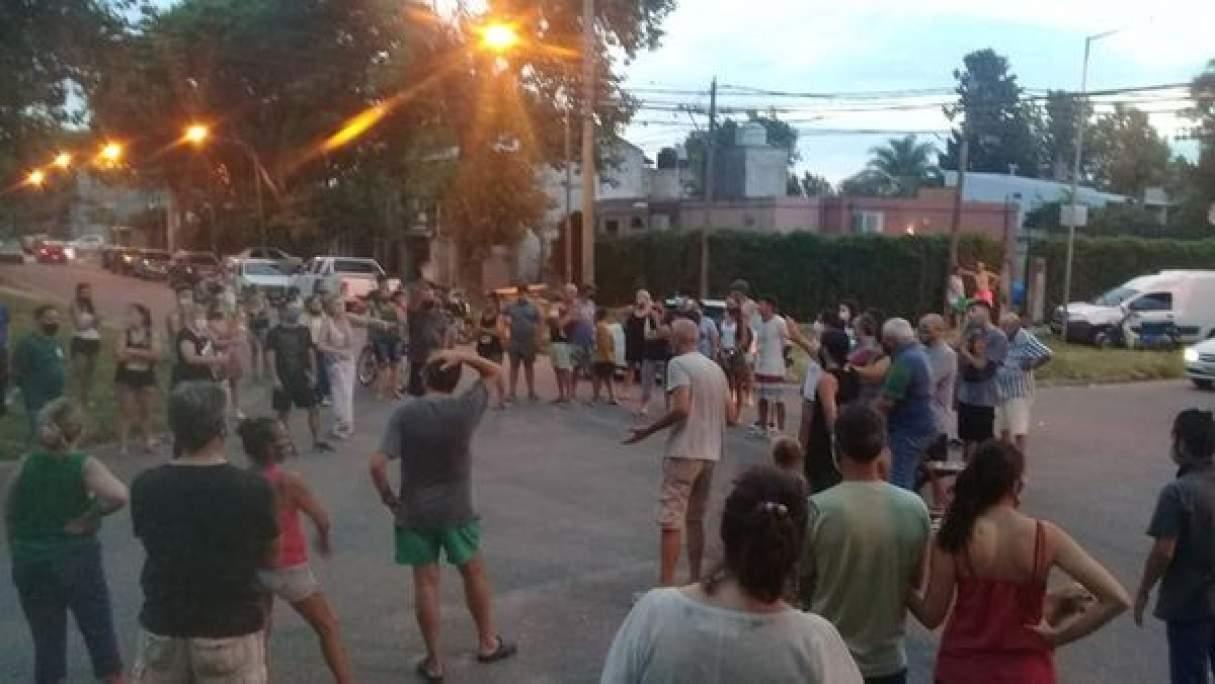 Baigorria: vecinos cansados reclamaron mas seguridad al intendente Maglia