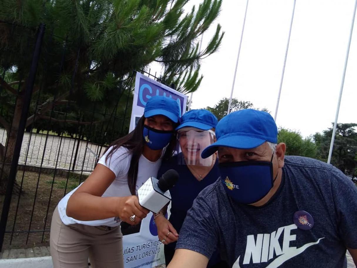 San Lorenzo cuenta con un grupo de guías turísticos a la gorra