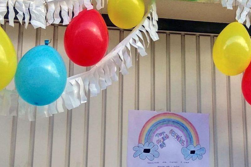 Convocan por whatsapp a decorar los barrios por el Día del Niño