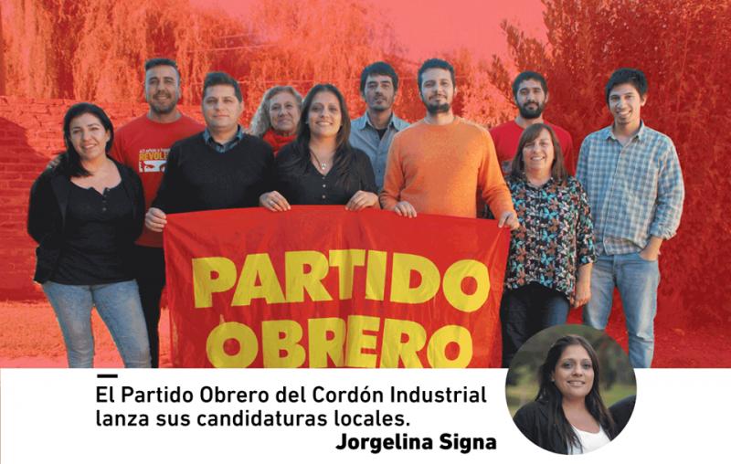 El Partido Obrero lanzó sus candidaturas locales