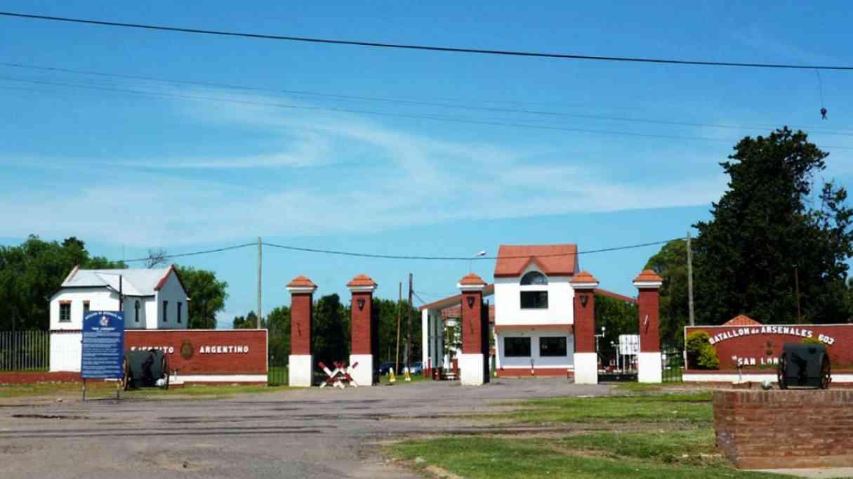 Desmienten el desmantelamiento del Batallón de Arsenales en Fray Luis Beltrán