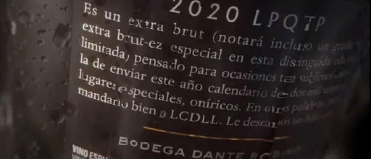 2020 LPQTP el vino espumante que se le atrevió al año de la pandemia