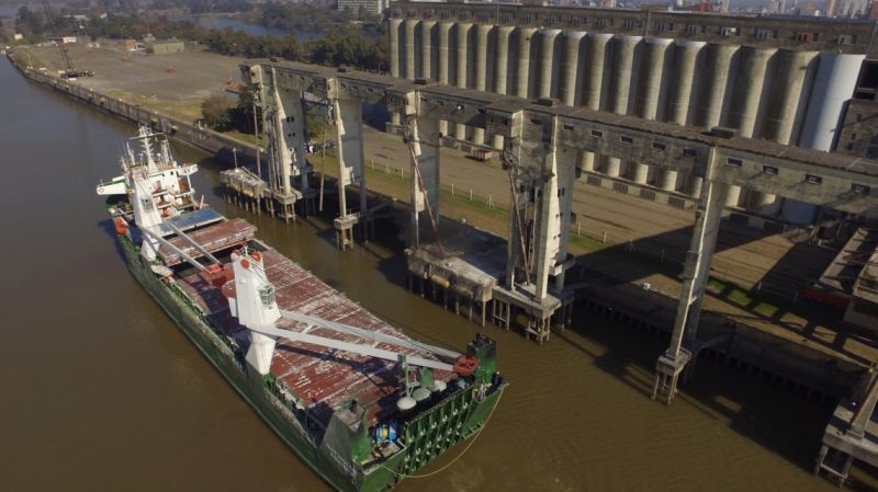 Puerto de Santa Fe: cuarto embarque consecutivo de pymes santafesinas