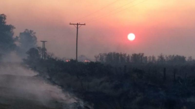 La EPE analiza acciones judiciales por los daños que causaron los incendio