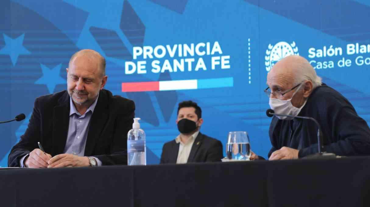 El gobierno firma un convenio para la construcción de 200 viviendas en Santa Fe