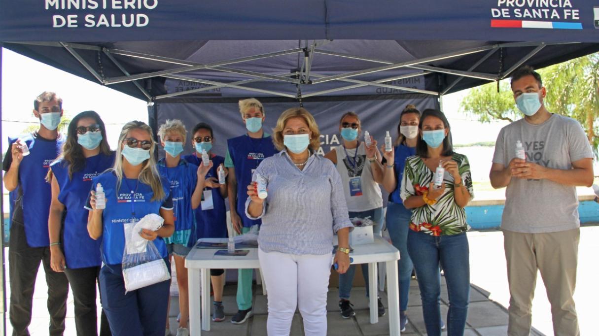 Verano seguro: Se llevan a cabo en Santa Fe medidas de prevención de Covid y Dengue