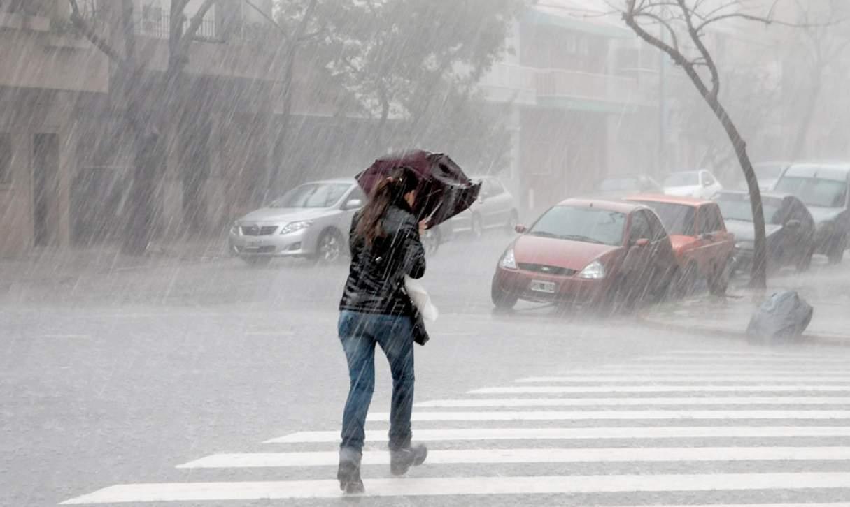 Alerta por tormentas fuertes para la región