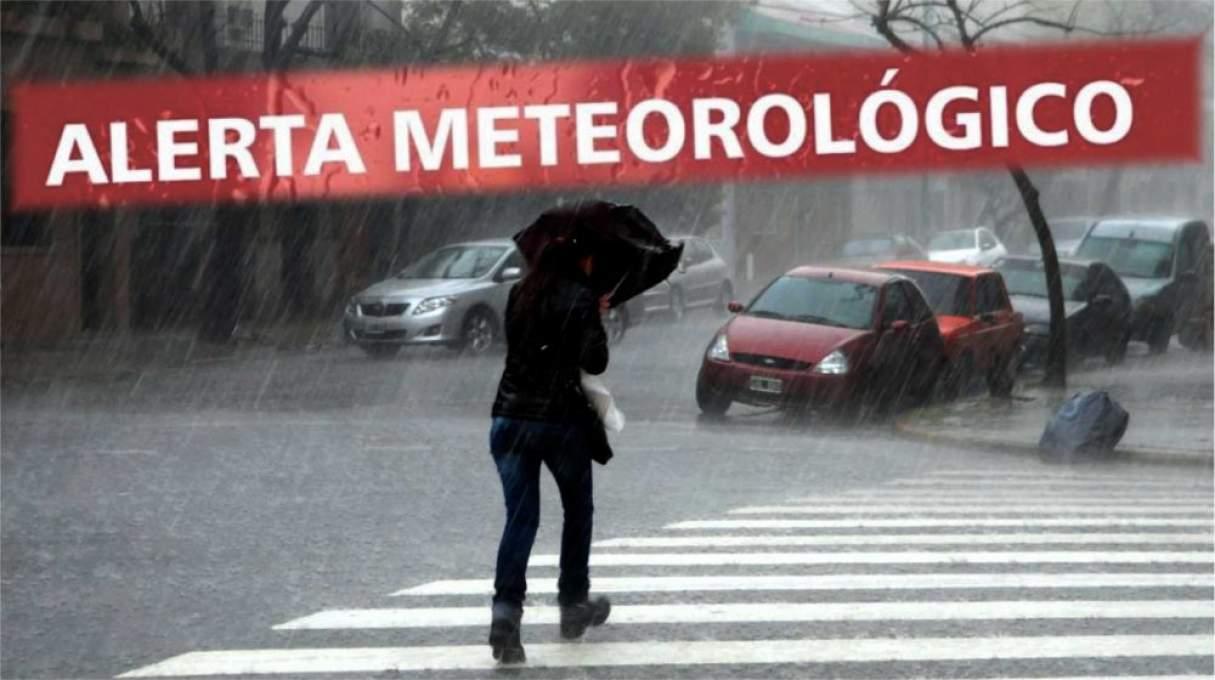 Renuevan el alerta por tormentas fuertes en la región