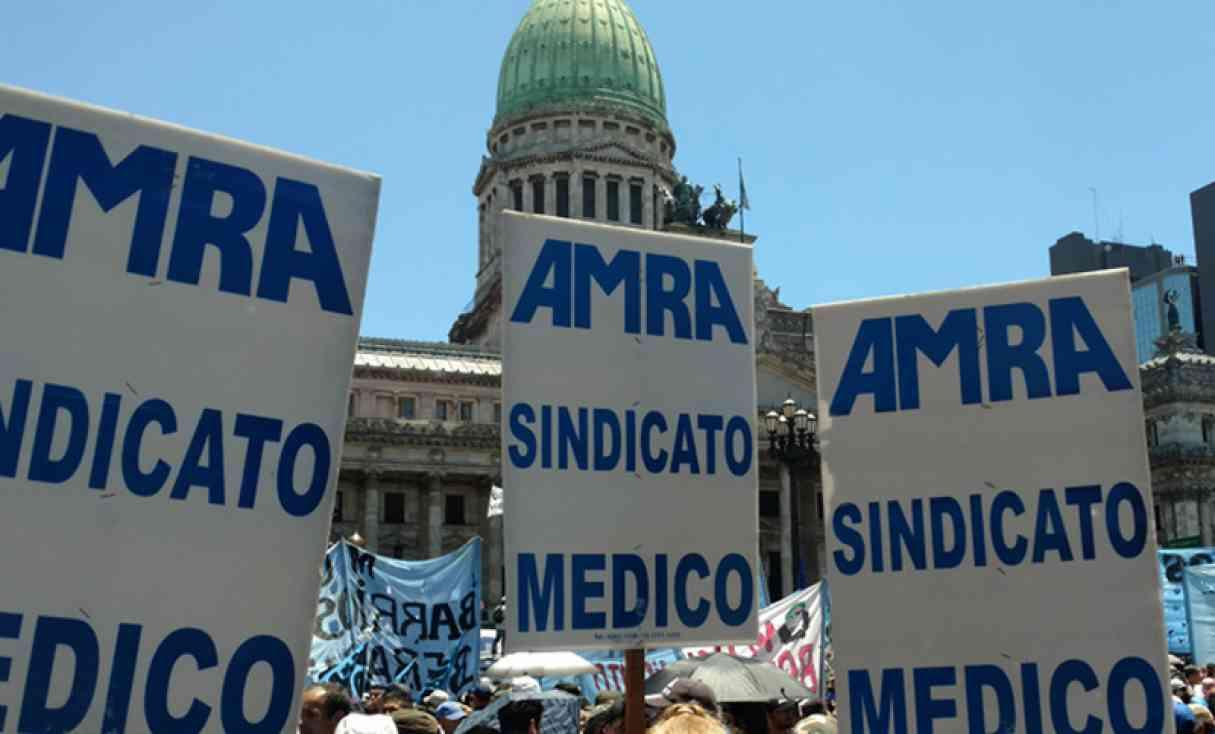 AMRA decretó luto en el día de la sanidad