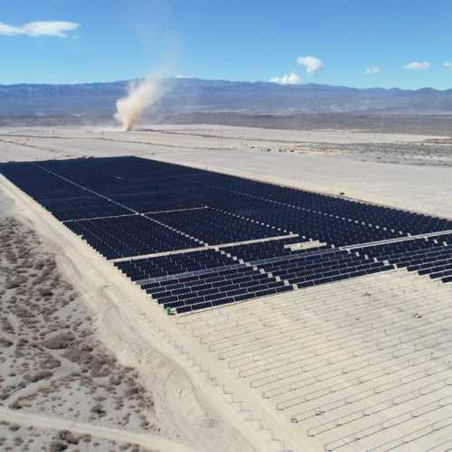 Cordillera Solar VIII se integrará al SADI con el parque fotovoltaico más grande del país