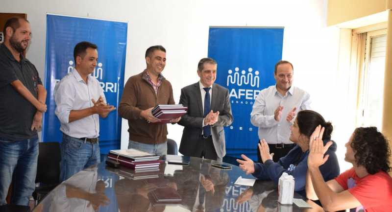 Traferri recibió a Instituciones de la zona en la Casa del Senado