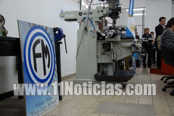Centro de Capacitación Fábrica Militar Fray Luis Beltrán Inscripciones para el ciclo lectivo 2018