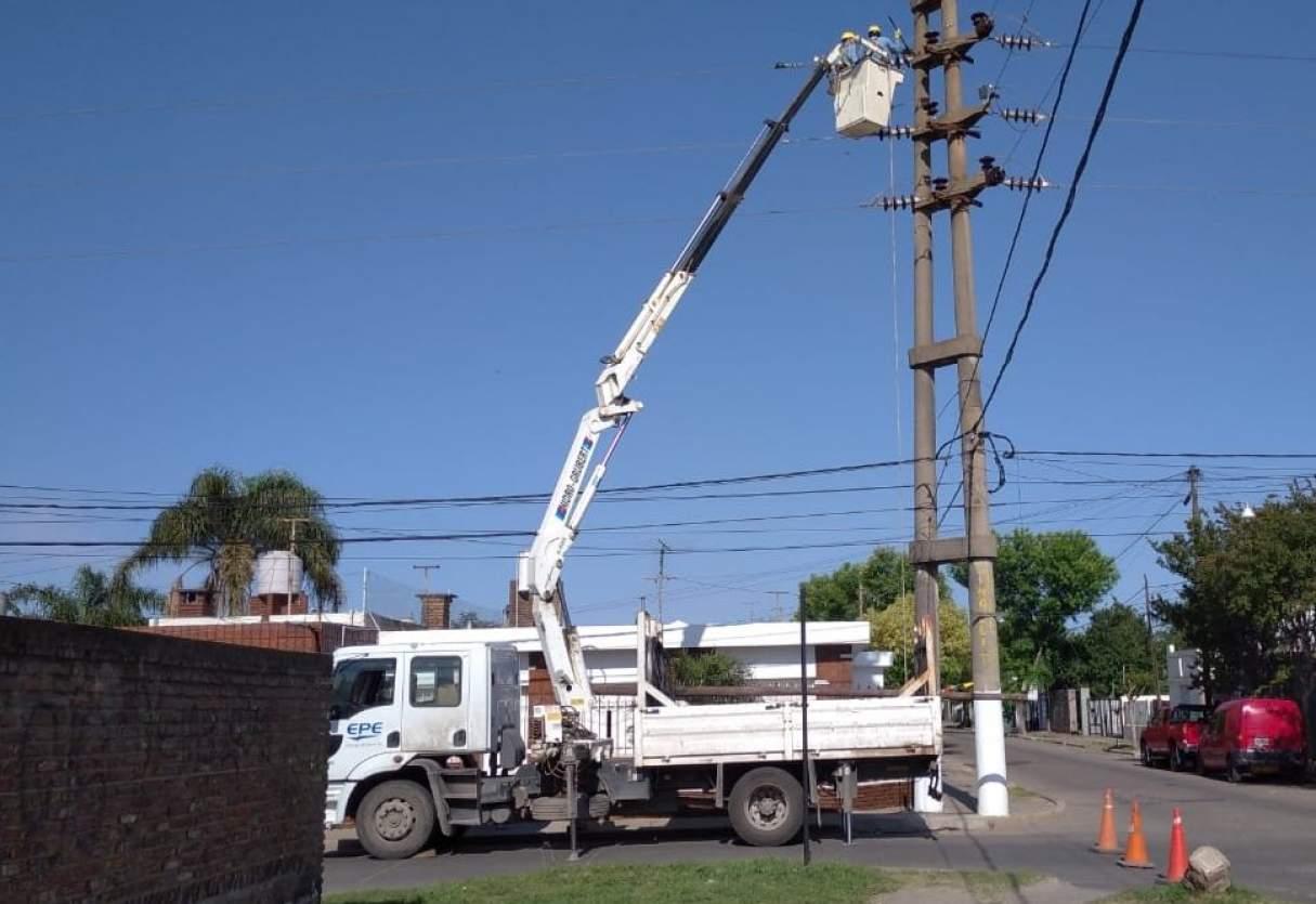 Viernes con cortes de energía programados en Bermúdez y Baigorria