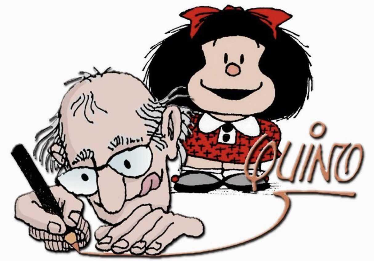 Murió Quino, el padre de Mafalda