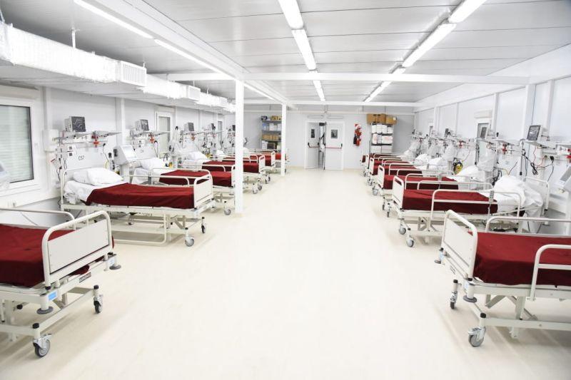 Inauguraron el hospital modular en Granadero Baigorria