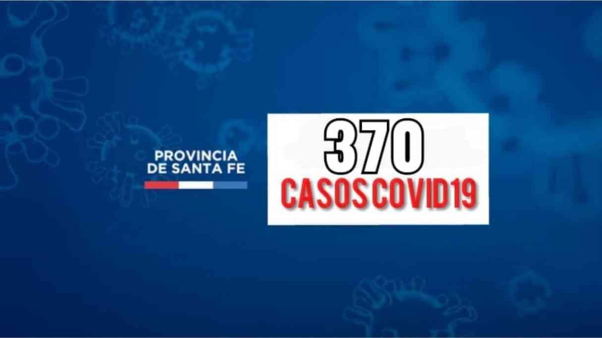 Santa Fe sumó 370 nuevos casos de Covid19