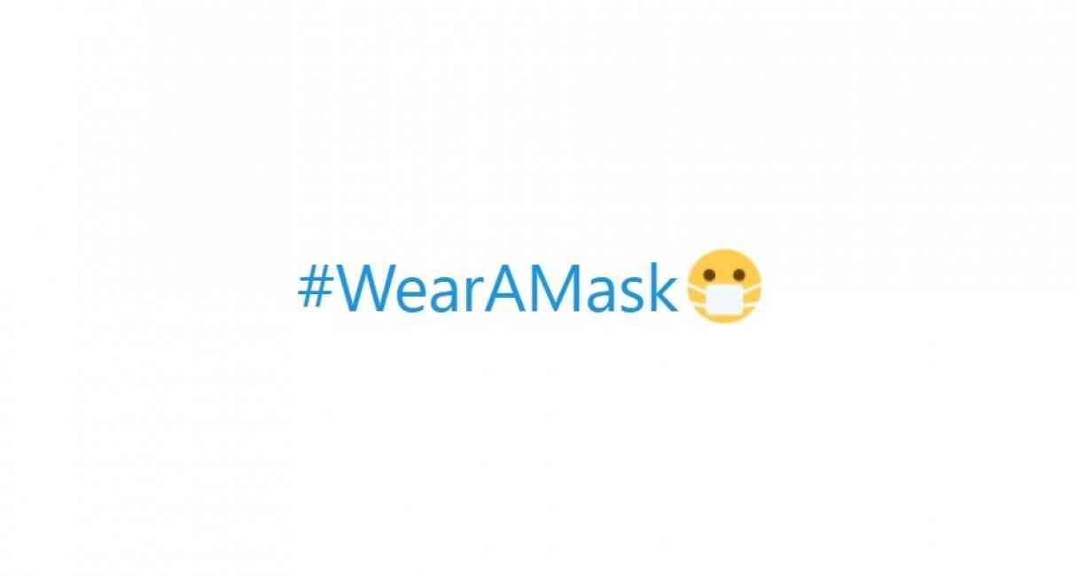 WearAMask: Twitter cambia el corazón por emoji con cubrebocas