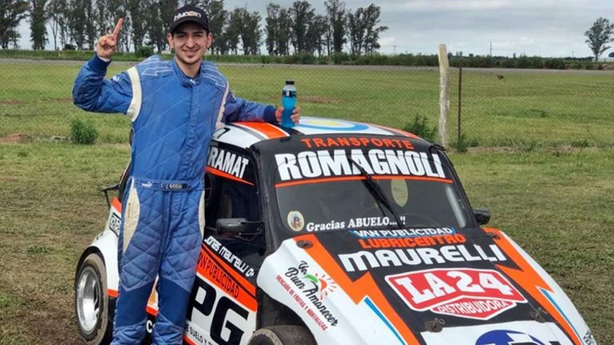Jonás Maurelli buscará estirar la ventaja en la punta del campeonato
