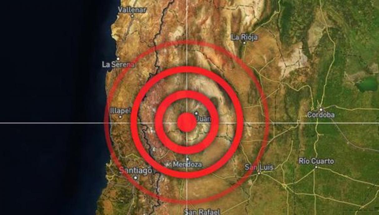 Un terremoto en San Juan se sintió en Rosario