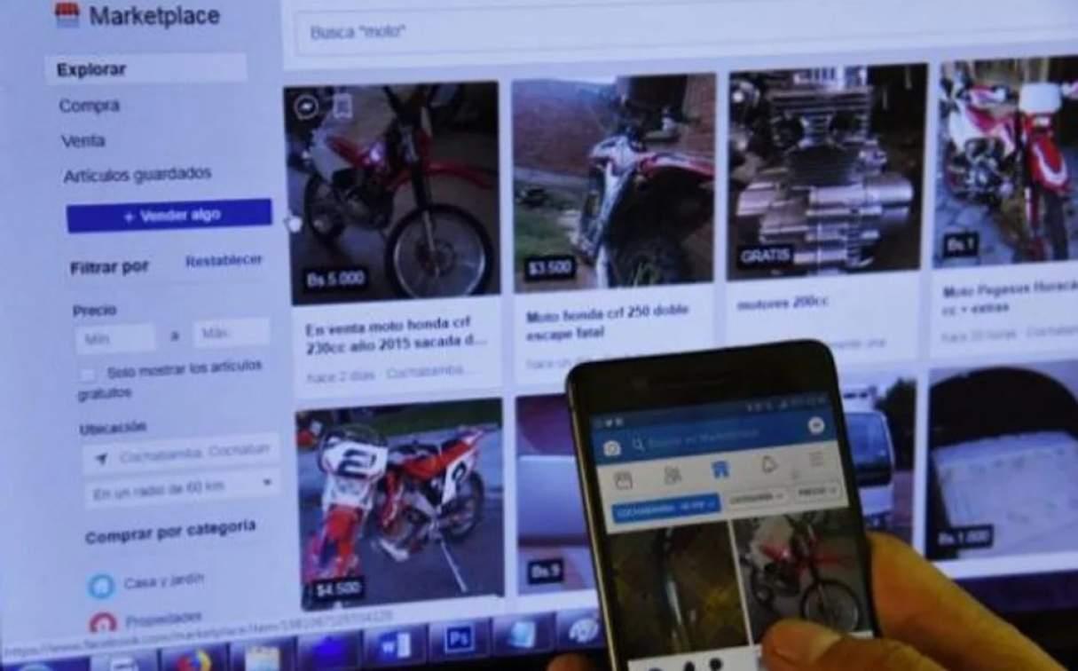 Nuevo intento de estafa por Facebook Marketplace