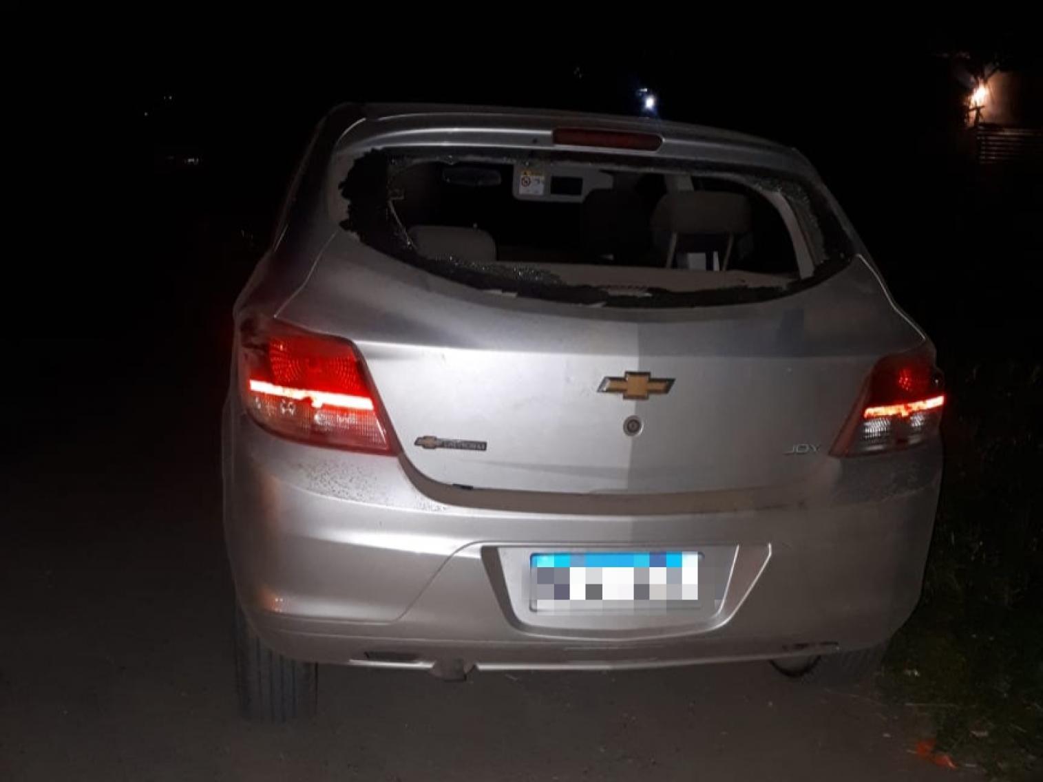Encontraron en Bermúdez un auto que estaría involucrado con un asesinato en Baigorria