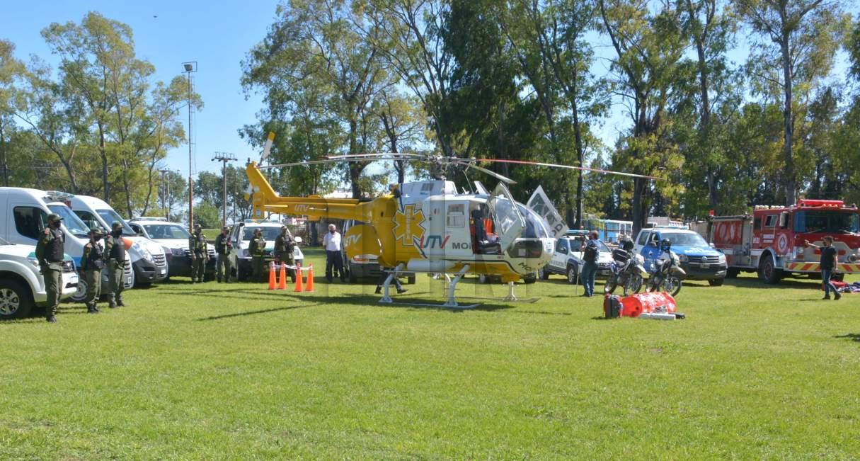 Ricardone cuenta con Evacuación Sanitaria Helitransportada