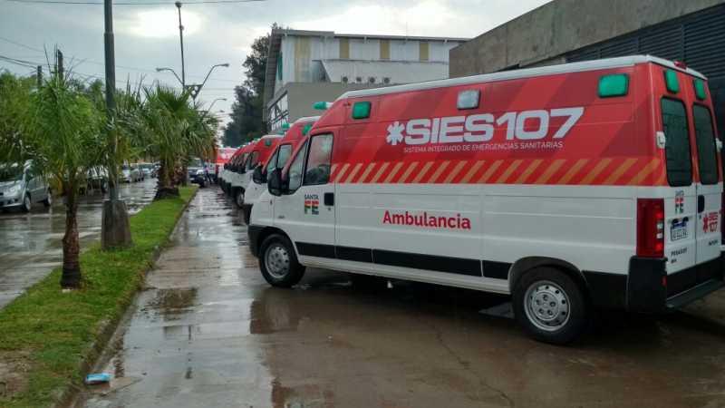 Llega una nueva ambulancia de alta complejidad para el Hospital Granaderos a Caballos