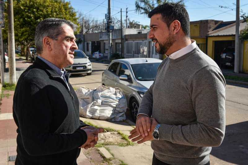 Traferri anunció su total acompañamiento a Marcos Cleri como precandidato a Diputado Nacional