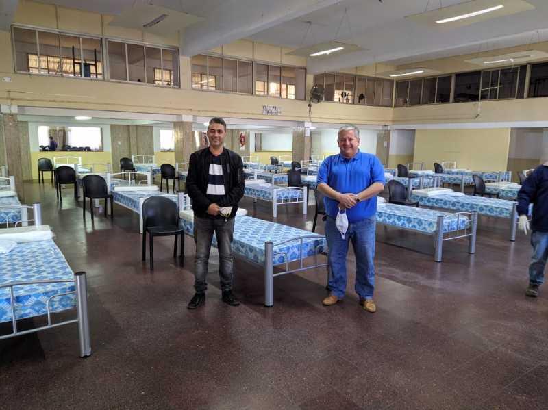 Fray Luis Beltrán ya tiene su centro de camas leves para infectados por Coronavirus