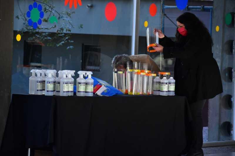 El Beppo Levi donó al municipio elementos de sanitización y prevención