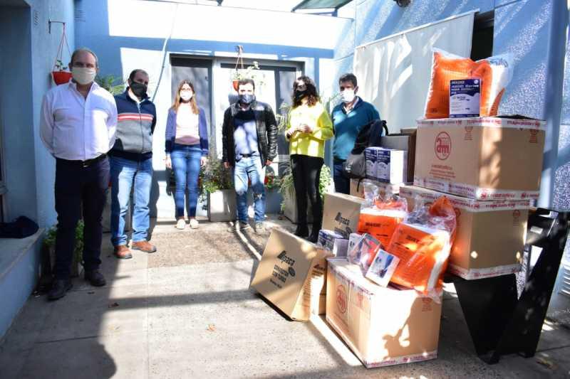 Pampa Energía dona insumos hospitalarios al municipio de Puerto