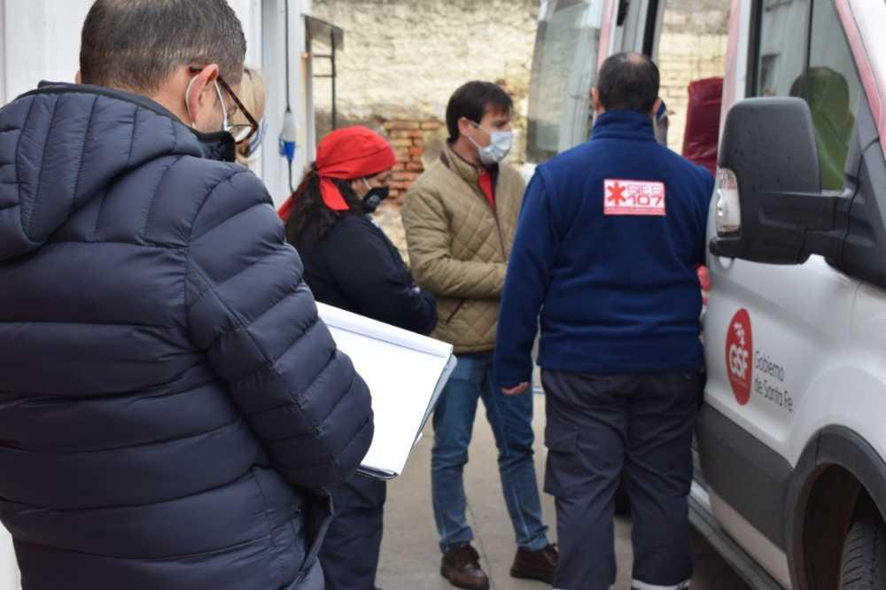 Comité de Emergencia Departamental: chequearon el estado de los servicios de emergencias de San Lorenzo, Puerto y Ricardone