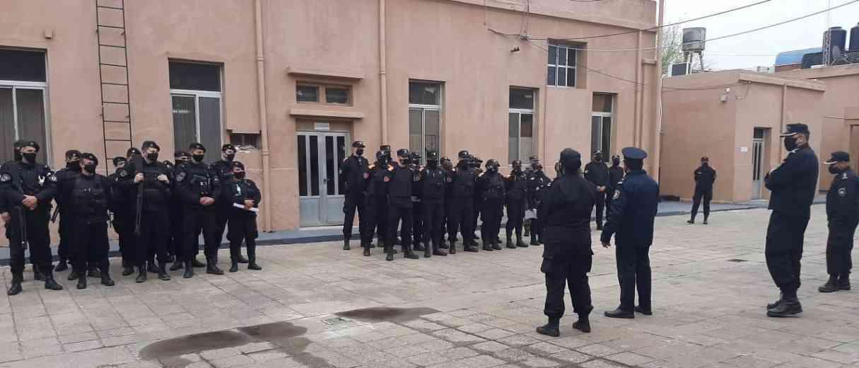 Lanzaron un operativo de saturación policial en el Departamento San Lorenzo