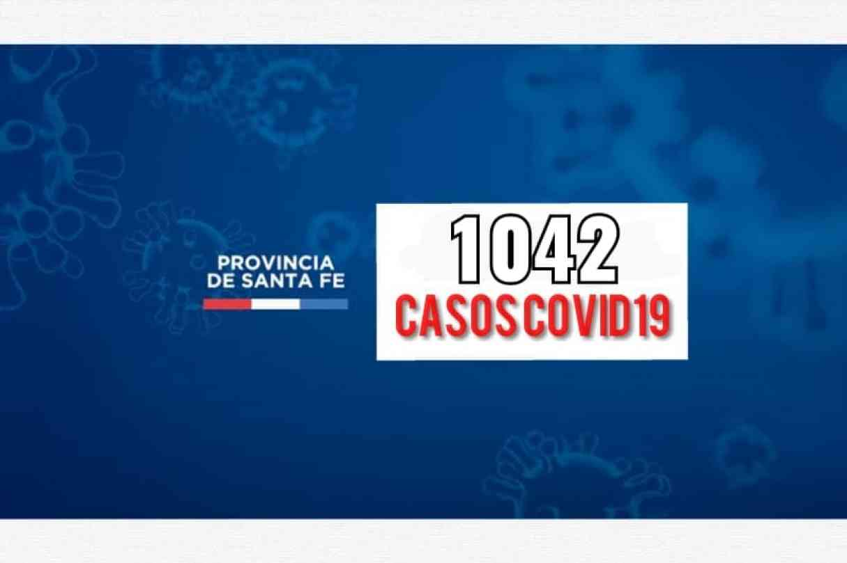 Santa Fe registra hoy 1042 casos de Covid19